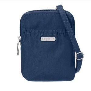 Baggallini Blue Bryant RFID Crossbody Travel Bag
